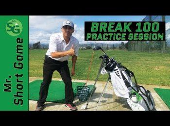 Break 100 Practice Game.