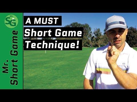 short game technique.