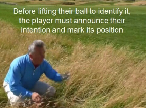 barry rhodes commentary on the spoken rules of golf.
