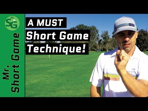 short game technique.